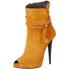 Giuseppe Zanotti Women's Peep-Toe Ankle Boot and other apparel, accessories and trends. Browse and shop 30 related looks.