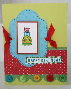 DeNami Birthday Turtle card by @Wendy Elliot