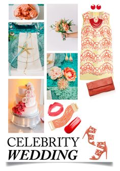 """""""You're Invited: Celebrity Wedding"""" by ittie-kittie on Polyvore featuring RED Valentino, Aquazzura, Nancy Gonzalez, Kenneth Jay Lane, Topshop, Rosantica, Marni and CelebrityWedding"""