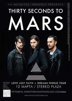 30 Seconds to Mars in Kiev 12 March Stereo Plaza