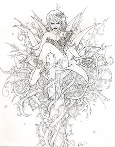 Poison Ivy by theopticnerve