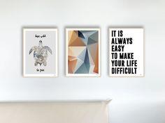 Digitaldruck - Set 30 Yuka / Poster, Bilder, Kunstdrucke, Deko - ein Designerstück von banum bei DaWanda