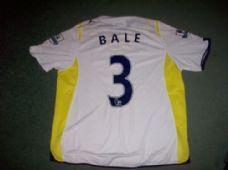390002846 2009 2010 Tottenham Bale Adults Large Home Football Shirt Spurs Top Tottenham  Shirt