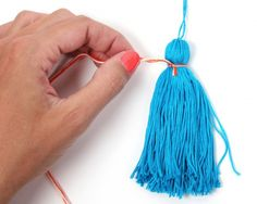 How to make your own tassles
