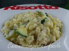 risotto courgettes poulet 04