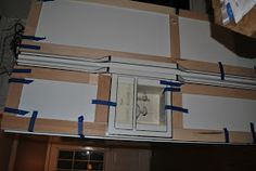U Haul Furniture Dolly Inexpensive Furniture, Cheap Furniture, Discount Furniture, Kitchen Furniture, Refrigerator Makeover, Built In Refrigerator, Kitchen Cupboard Storage, Kitchen Wall Shelves, Beach Kitchens