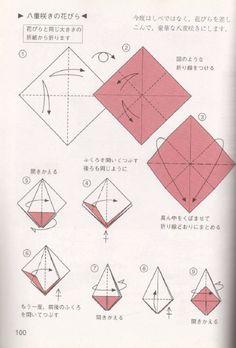 ADOBRACIA: Diagrama Do Kusudama Bouquet De Prímulas - Tomoko Fuse