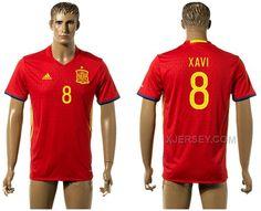 http://www.xjersey.com/spain-8-xavi-home-euro-2016-jersey.html Only$35.00 SPAIN 8 XAVI HOME EURO 2016 JERSEY Free Shipping!