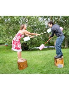 The best summer wedding lawn games Avoid any awkward silences and get your guests in a glorious mood with an array of games for them to play in the sun. From croquet, to sack. The post The best summer wedding lawn games appeared first on Welcome! Games For Teens, Adult Games, Lawn Games Wedding, Wedding Backyard, Backyard Bbq, Backyard Ideas, Romantic Backyard, Garden Wedding, Backyard Obstacle Course