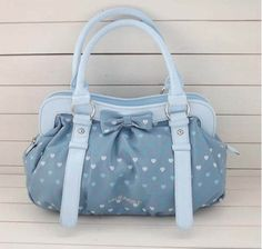 blue lil rabbit bag