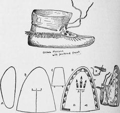 Free Printable Moccasin Patterns - WOW.com - Image Results