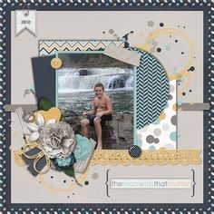 Quiet Moments by Blue Heart Scraps and Created by Jill Scraps - Scrapbook.com