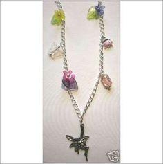 FAIRY LADYBIRD-FLORAL Necklace £12.99