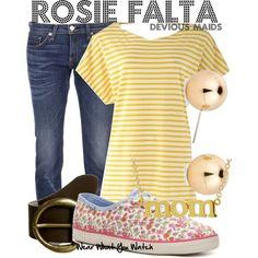 Inspired by Dania Ramirez as Rosie Falta on Devious Maids.