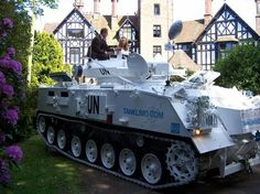Go barging in with a tank!!