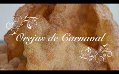 Receta de Orejas de Carnaval Crujientes y Caseras - Chef de mi casa.com