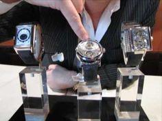 Así se hace - Relojes de lujo. Silver, Accessories, You Complete Me, Luxury Watches, Telling Time, Perpetual Calendar, Diy Clock, Auction, Money