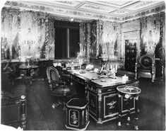 Frank W. Woolworth's executive office, known as the Empire Room, located on the 24th floor of the Woolworth Building in New York City.