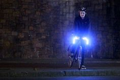 woooww. LED Bicycle Handlebars, complete with turn signals. nice.