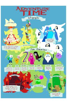 Adventure Time Infographic by ~radtastical on deviantART