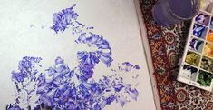 Jacaranda Painting - A Major Work in Watercolour - Heidi Willis Day And Time, No Time For Me, Textures And Tones, Heart And Mind, Botanical Illustration, Tangled, Watercolour, Things To Come, Colours