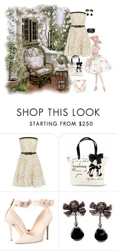 """""""Untitled #394"""" by missozlems ❤ liked on Polyvore featuring Valentino, Kate Spade, Pomellato and Oasis"""