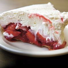 Strawn's Strawberry Pie recipe from Southern Living (given by the owner). Shreveport's BEST piece of pie!!!