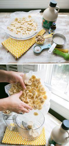 Banana Ice Cream Recipe - Gweneth Paltrow's recipe