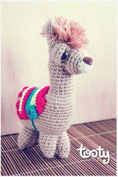 Tosty Toys Llama by Blendshop Medellín, via Flickr Llamas, Dinosaur Stuffed Animal, Toys, My Style, Cute, Animals, Shopping, Women, Activity Toys