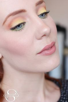 SmoonStyle: Spring Eyes. Simone Simons (Epica) makeup inspiration for some vibrant spring eyes!