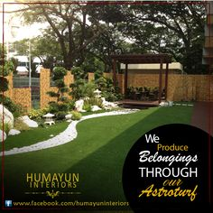 We produce belongings through our astroturf   Product: Artificial grass astroturf http://www.humayuninteriors.com/astroturfs/ Call us +021-34964523 , 34821297 , 34991085 Shop no: CA-5,6,7 hassan center, University Road Gulshan-e-Iqbal Karachi Pakistan  #Banquets_carpets #Commercial_carpets #Office_carpets #Berber_carpets #Loop_carpets #Highpile_carpets #Masjid_carpets #Contemporary_rugs #Area_rugs #Centerpieces #Abstract_modern_rugs #Marquee #Shadihallmarquee #Vinyl #Woodenfloorng…