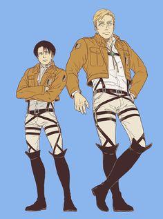 Levi X Petra, Levi And Erwin, Levi Ackerman, Atack Ao Titan, Fandom, Attack On Titan Ships, Eruri, Best Waifu, Cute Gay
