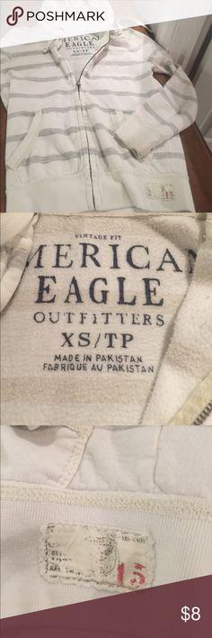 Zip up hoodie nice soft cotton Zip up hoodie very soft and comfortable American Eagle Outfitters Jackets & Coats Lightweight & Shirt Jackets