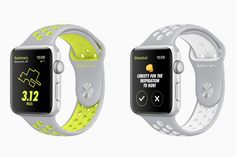 Apple Nike+ watch faces 2
