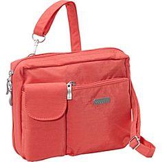 70632d5b57c baggallini Wallet Bagg Large Crinkle Nylon - Coral - via eBags.com!  Crinkles,