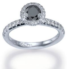 i saw that @Kenzie Brewer said she wanted a black diamond ring and i was like WHAT!? but...its actually pretty cute :)