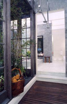 indoor outdoor spa sanctuaries on pinterest outdoor