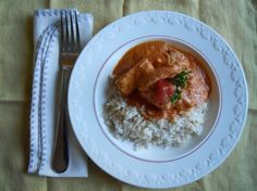 Butter Chicken recipe from my coworker. A-MAZING. foodstuffs