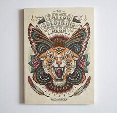 Tattoo Coloring Book - Kleurboek | DIY | Een Nieuw Avontuur