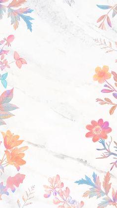 Ipad Background, Instagram Background, Flower Background Wallpaper, Pastel Background, Watercolor Background, Background Patterns, Free Wallpaper Backgrounds, Flower Backgrounds, Cute Wallpapers