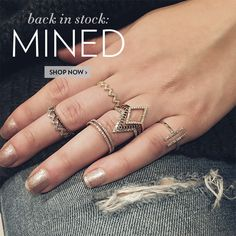 The wait is OVER! Your favorite diamond jewelry is BACK.