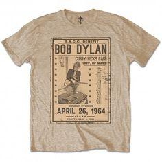 Bob Dylan 1964 Concert Poster T-Shirt Wind Logo, Band Merch, High Quality T Shirts, Bob Dylan, Mens Xl, Cotton Tee, Unisex, Tees, Mens Tops