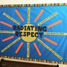 School Counseling from A-Z: Bulletin board idea for spring