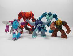 Gormiti - Action Toy Figures X 5 - Giochi Preziosi - Cake Toppers (2)