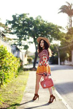 Blog da Lê-Moda e Estílo: Look - Inverno com cara de verão