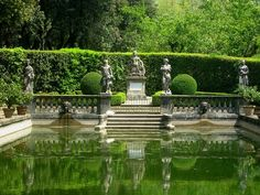 Italy, Gardens and Parks: Villa Torrigiani, Lucca