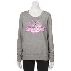Juniors' Jurassic World Graphic Sweatshirt
