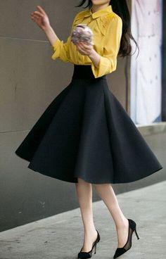 5XL Plus Size Skirt High Waisted Skirts Womens White Knee Length Bottoms Pleated Skirt Saia Preta Pink Black Red Blue 2017