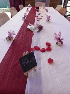 Une table de convives
