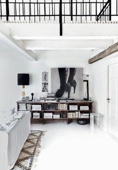 Le design scandinave en noir et blanc - Frenchy Fancy